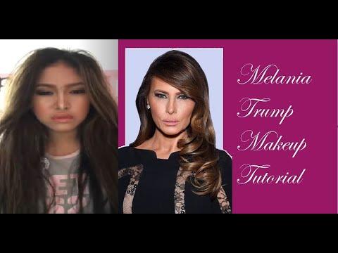 Melania Trump Makeup Tutorial - YouTube