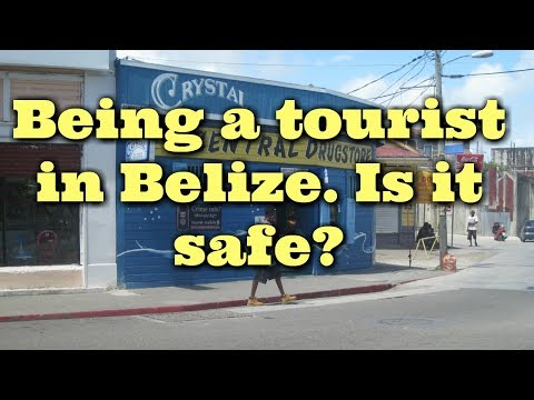 We take a deep dive into Belize city to find out is Belize safe for a cruise ship tourist