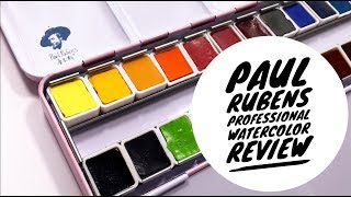 Paul Ruben's Professional 24 Watercolor Set Review