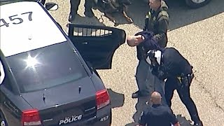 Los Angeles Police Chase, Manhunt