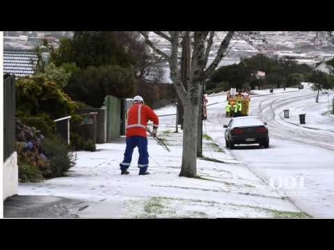 Snow Day Dunedin May 25 2015