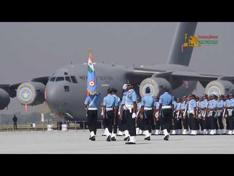 85 IAF Day Parade 2017 At Hindon Air Force Base | Full Dress Rehearsal