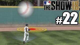 BLACK PANTHER TRIES TO ROB HIS FIRST HOME RUN! | MLB The Show 18 | Road to the Show #22