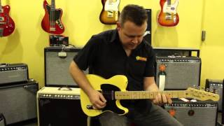 Fender Baja Tele vs American Vintage '52 Tele Reissue vs 1952 Tele | Product Shootout