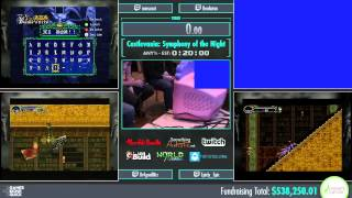 Awesome Games Done Quick 2015 - Part 130 - Castlevania: SotN (Alucard) by Various Runners