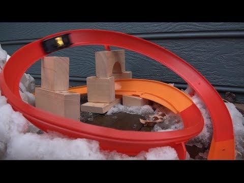 Hot Wheels Snow Track