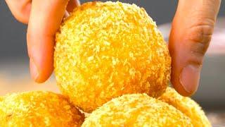Хрустящие шарики с мясной начинкой: простейший рецепт всем на удивление.