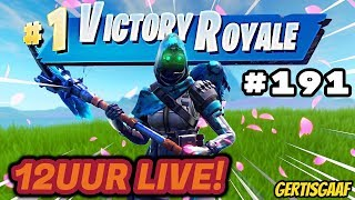 [GIG CLAN] 12 UUR LIVESTREAM + GIVEAWAY!!! 🔥🤣#191 🔴Livestream Fortnite Battle Royale NL🔴