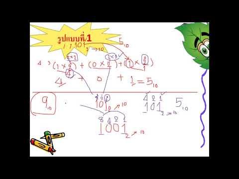 การแปลงเลขฐานสองเป็นเลขฐานแปด