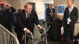Weinstein es hospitalizado horas después de ser declarado culpable