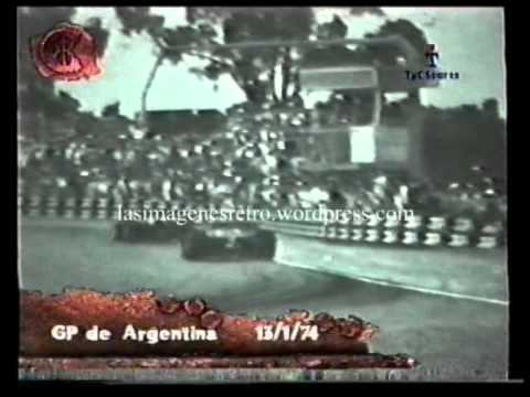 Gran Premio Argentina Fórmula 1 1974