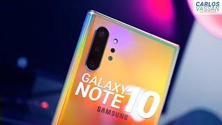 Samsung Galaxy Note 10+ es MEJOR de lo que pensabas | Unboxing en Español