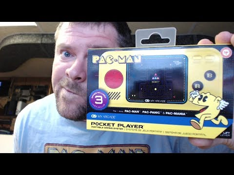 My Arcade Pacman Portable Pocket Player Review