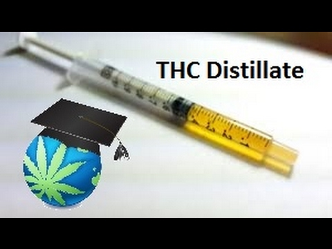 What Is THC Distillate? - Cannabis Distillate Overview