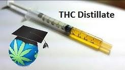 What Is THC Distillate? - Cannabis Distillate Overview