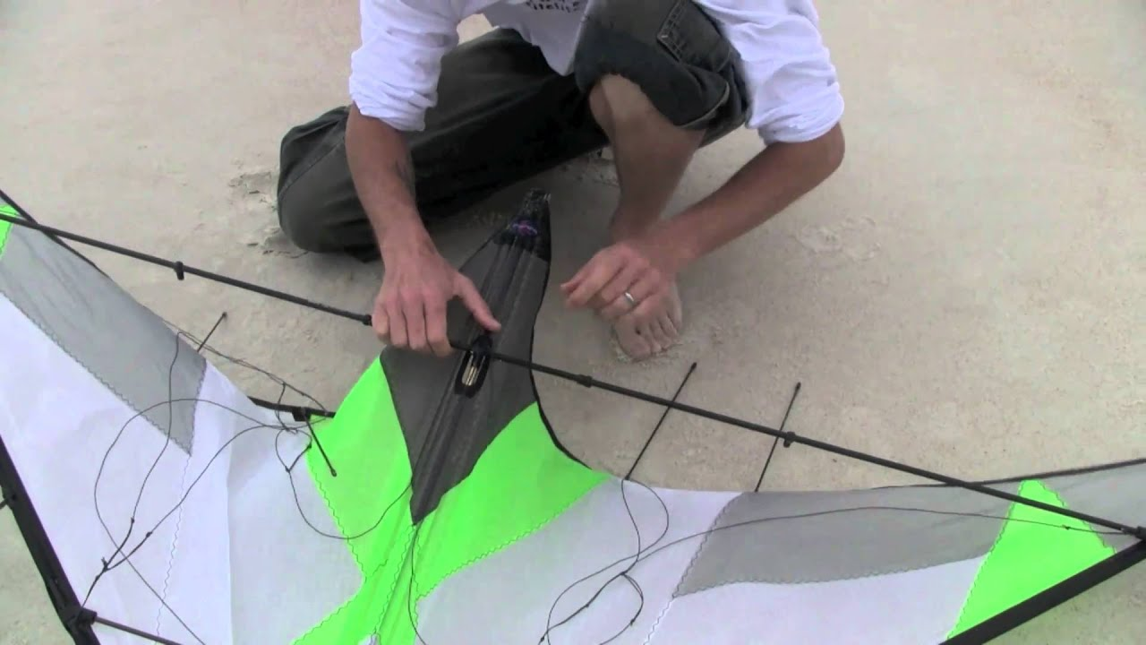 Dual Line Tutorial Assembly And Disassembly Stunt Kite Youtube How To Make A Diagram Ehow Uk