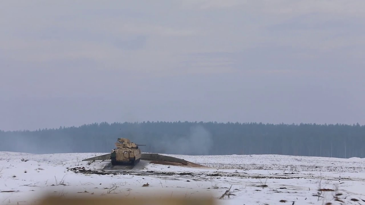 U.S Army • Tanks & Fighting Vehicles & Mortar Live Fire Demonstration • Jan 23  2021 • Lithuania