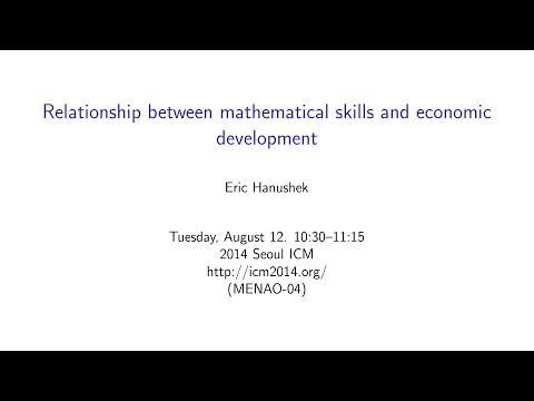 ICM2014 VideoSeries MN04: Eric Hanushek on Aug12Tue