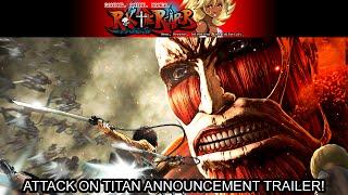 Attack on Titan Game Announcement Trailer (PS4, X1, PS Vita, PS3, PC)