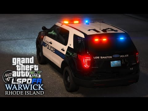 GTA 5 LSPDFR - Day 195   Warwick Police Department   Stolen Car Spotted at a Golf Place [LSPDFR 0.4]