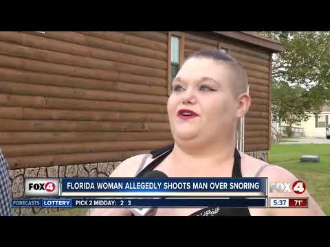 Heath West - Florida Woman Shoots Boyfriend For Snoring