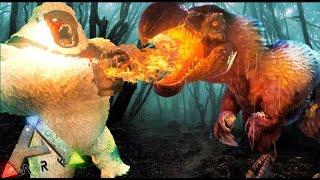 DODOREX VS MEGAPITHECUS - La caza del DODOREX - ARK survival Evolved #50 - Nexxuz