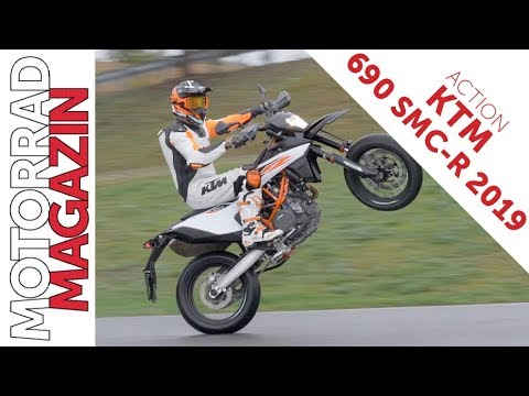 KTM  SMC R  - Action und Sound! First Ride mit der neuen Supermoto.