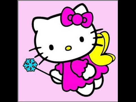 Cara Menggambar Hello Kitty Peri Kitty Youtube