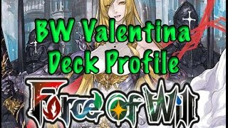 Video Force of Will (TCG) Deck Profile: Blue/White Valentina download MP3, 3GP, MP4, WEBM, AVI, FLV Desember 2017
