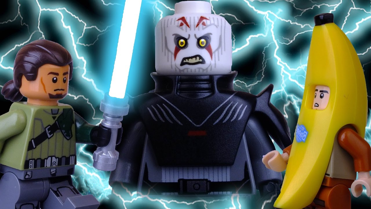 Lego Star Wars Rebels Ridiculed Halloween Special Banana Fright