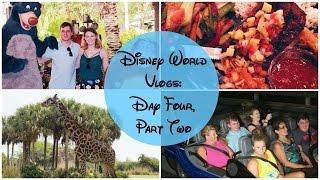 Disney World Vlogs 2016   Day Four, Part Two - Yak & Yeti, Kilimanjaro Safari & Test Track