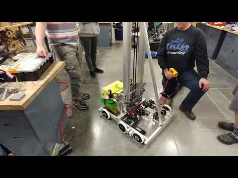 FRC 3218 Panther Robotics Lift Test