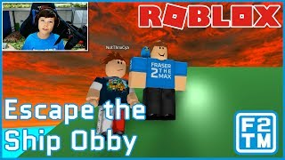 Meeting ThnxCya in Roblox when Recording my Own Vid on Roblox Escape the Ship Obby