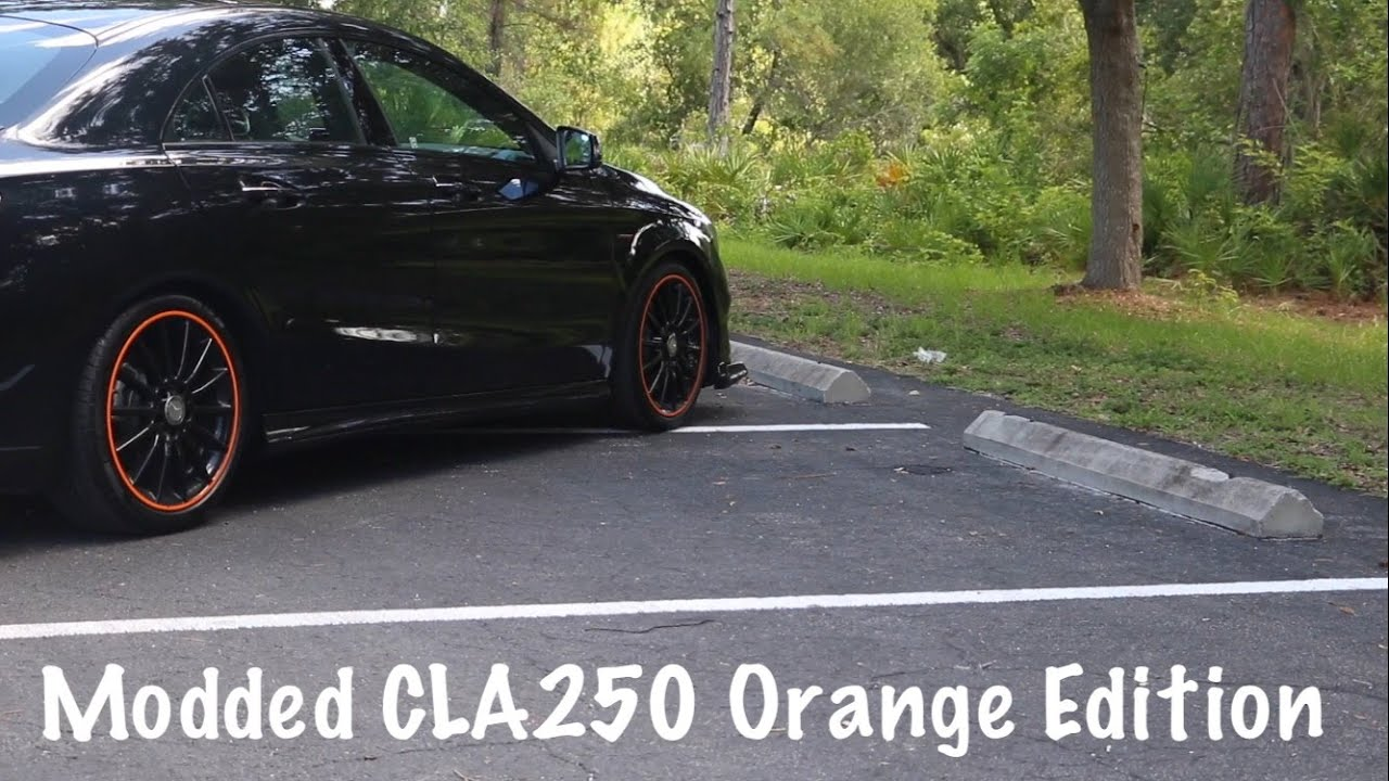 318 Whp Modifed Mercedes Cla250 Orange Edition Review
