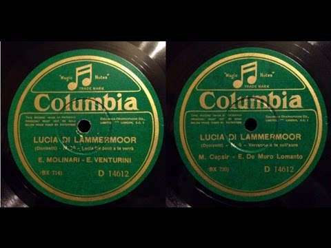 LUCIA DI LAMMERMOOR - La Scala 1929 (Complete Opera Donizetti)