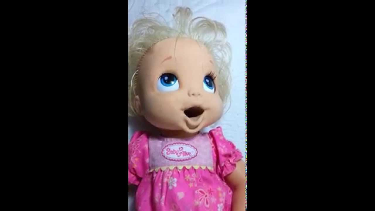 Original Soft Face Baby Alive Doll Interactive Doll Youtube