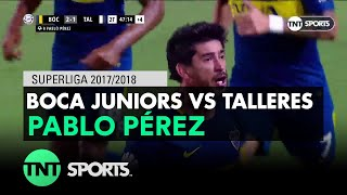 Pablo Pérez (2-1) Boca Juniors vs Talleres | Fecha 21 - Superliga Argentina 2017/2018