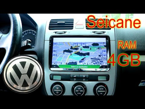 How To Install Car Android Radio Navigation Seicane S6920G on the Volkswagen Head Unit