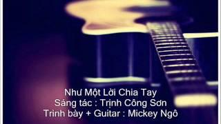 Nhu Mot Loi Chia Tay (Guitar).wmv