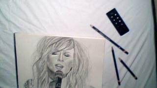 The boy who murdered love - Diana Vickers Drawing