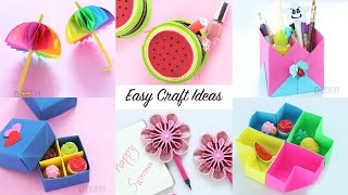 6 EASY CRAFT IDEAS | Craft Ideas | DIY Crafts