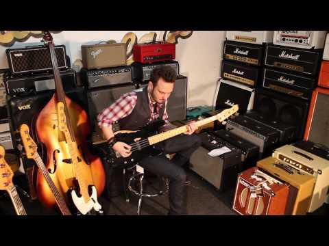 Precision Bass Custom Shop Dusty Hill François C. Delacoudre Guitare Village Loïc Goulven Caradec