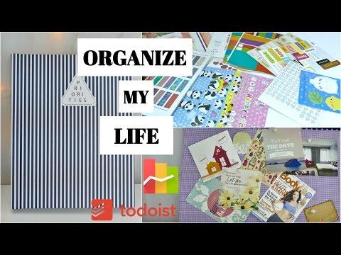 BÍ QUYẾT SẮP XẾP CUỘC SỐNG | Viết Planner, DIY Goals Board, Stickers Collection, Quản Lý Chi Tiêu