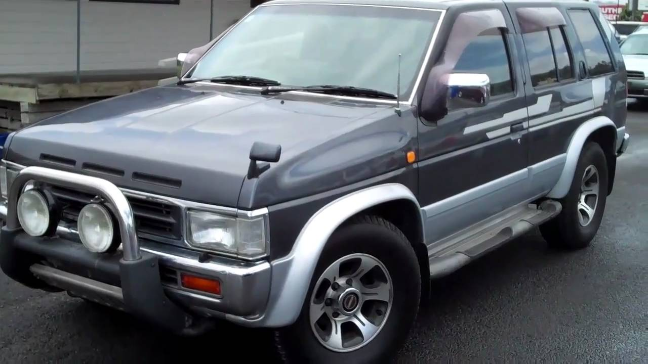 1995 Nissan Terrano Rm3 For Sale At Free To Sell Youtube