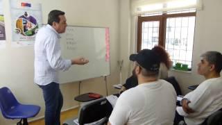 Derslerimizden (Grafik Tasarım ve Spikerlik Sunuculuk Eğitimi)
