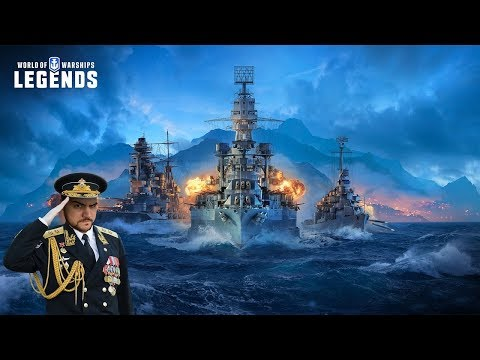 [18+] Шон играет в World of Warships Legends (Xbox One/PS4)