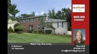 Homes For Sale in Wayne NJ 07470 Passaic County 217 Webster Drive by Sima Wolf