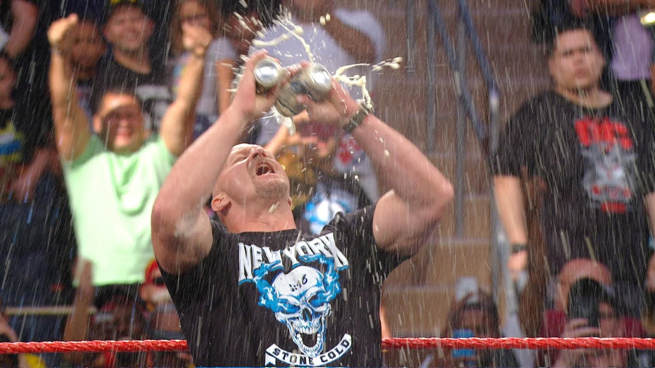 How Stone Cold Steve Austin Cleaned Up After WWE Beer Bashes 2