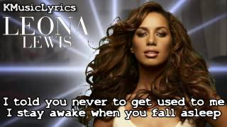 Leona Lewis - Trouble (Official Lyrics Video)