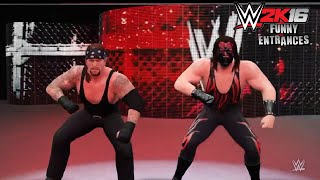 WWE 2K16 - Funny Entrances